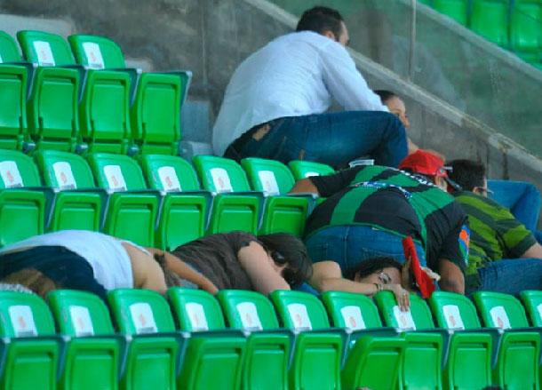 Santos balazos en el futbol mexicano y pecho a tierra