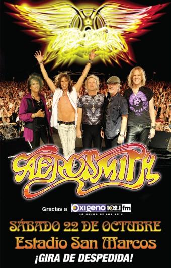 """Aerosmith """"despidiéndose"""" en Latinoamérica"""