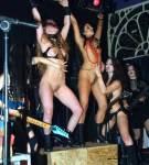 Los ritos paganos eran un incentivo en sus shows