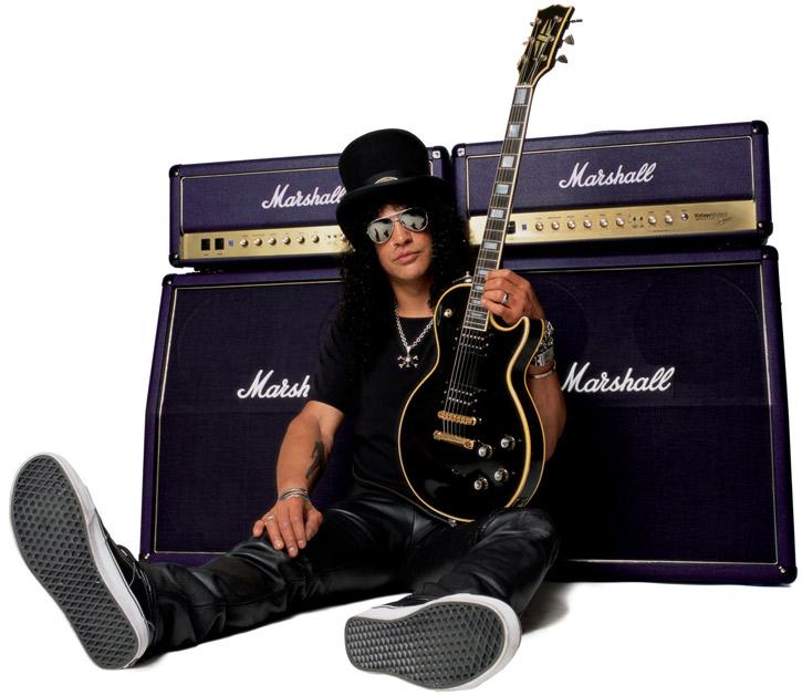 Slash es el modelo a seguir en Guns N' Roses