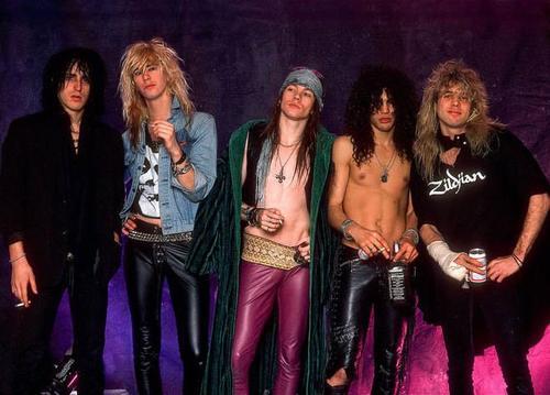 Guns N' Roses cuando reinaban en el mundo del rock