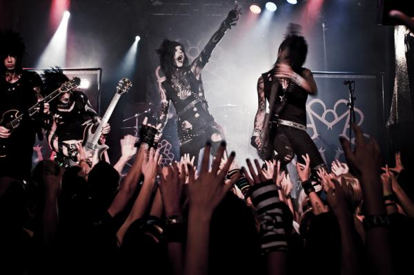 Black Veil Brides en el top ten de Inquisidor71