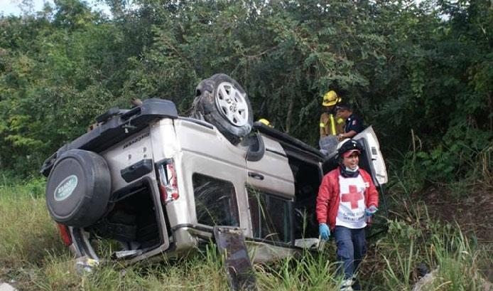 El costo de los daños por este accidente ascienden a los 70 mil pesos