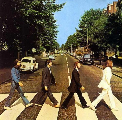 La portada del sensacional disco Abbey Road