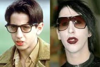 Josh Saviano  y Marilyn Manson sólo se parecen