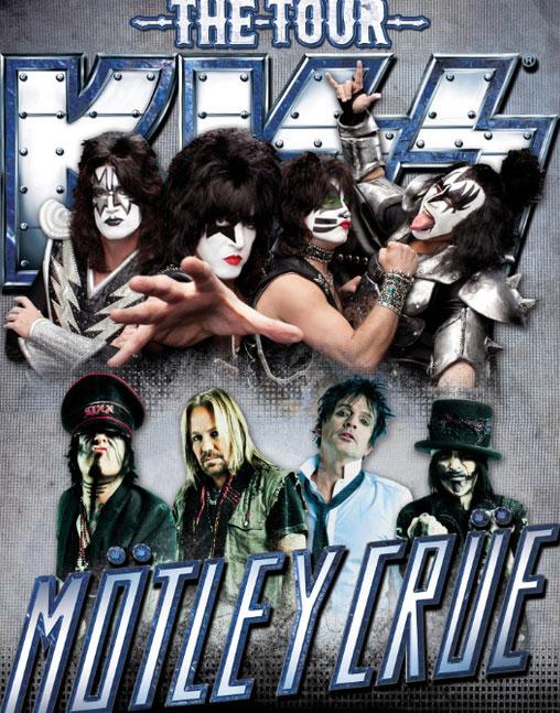 Kiss y Mötley Crüe juntos en una gran gira