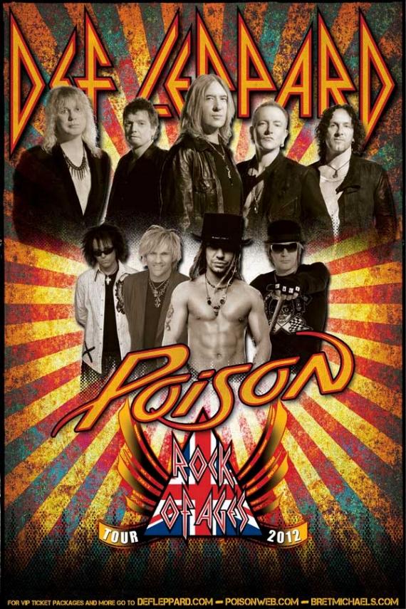 Def Leppard,  Poison y Lita Ford en México