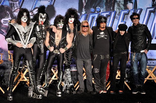 Kiss y Mötley Crüe  en México