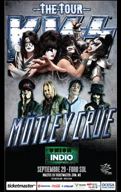 Kiss y Motley pospusieron concierto en Detroit