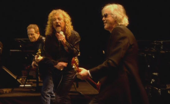 Led Zeppelin en 2007 en Londres
