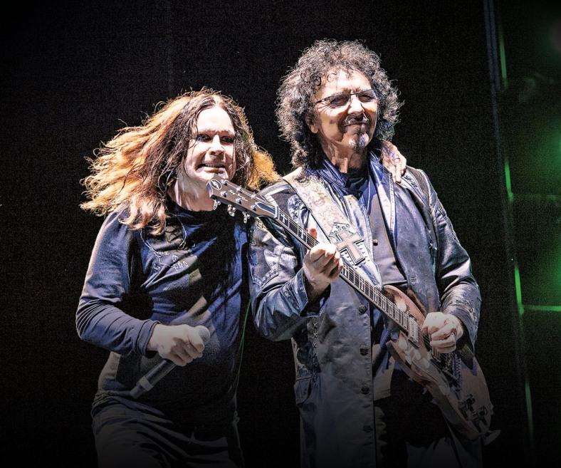 Ozzy Osbourne y Tony Iommi, los maestros del metal