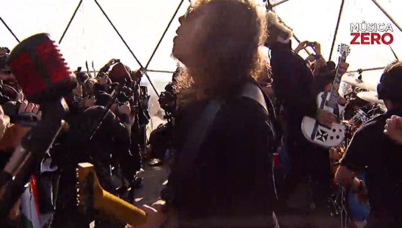 Kirk Hammet no estuvo tan preciso