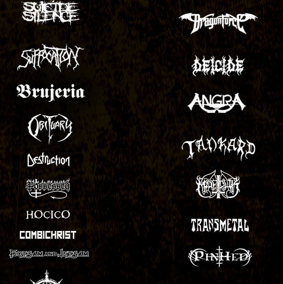 Cartel del Hell & Heaven Metal Fest 2014