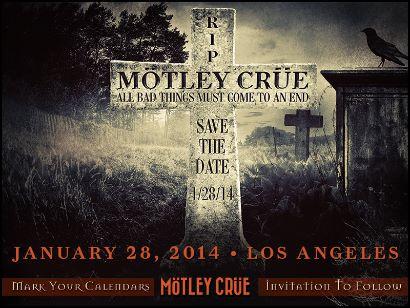 Motley Crue cerrará brillante trayectoria