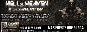 Mantienen la esperanza en el Hell & Heaven Metal Fest