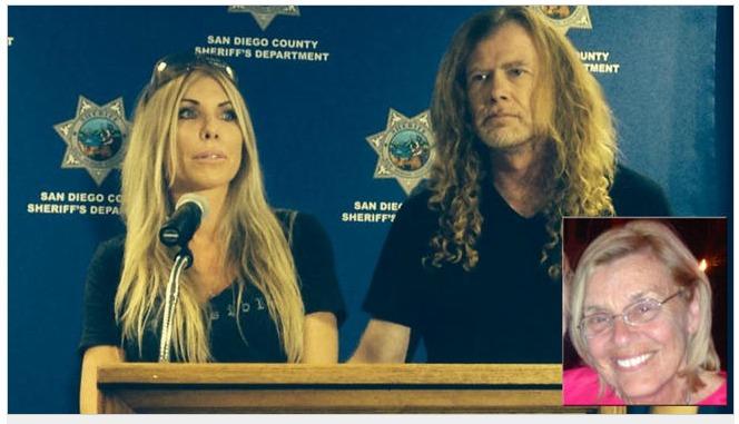 Dave Mustaine y su esposa ahora sufren la partida de un ser querido