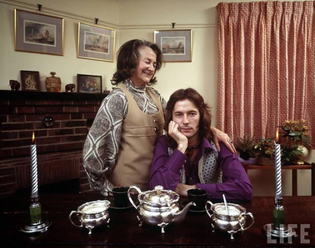 Eric Clapton y su madre