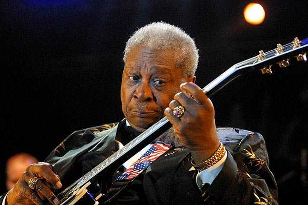 B.B. King pone de luto al blues