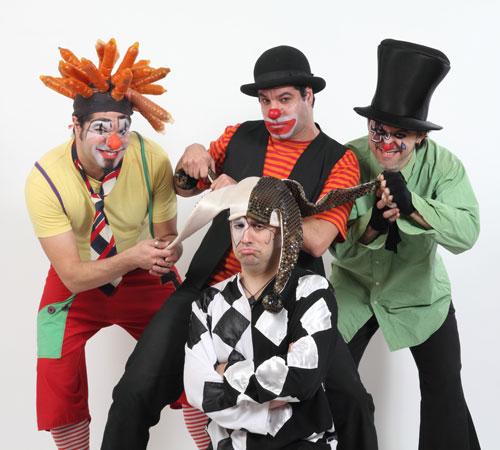 Cuatro Payasos Muertos mostrarán su rock en vivo