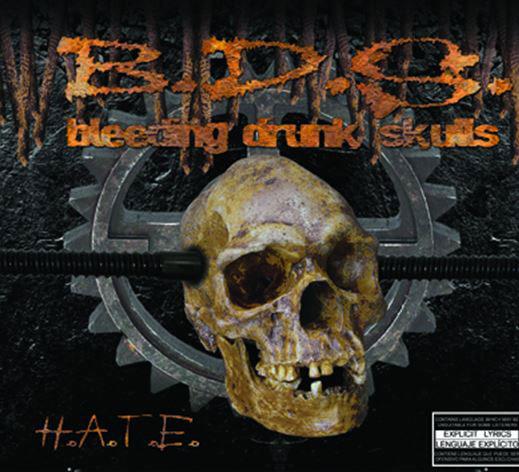 B.D.S. y su álbum debut H.A.T.E.