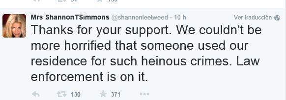 El twitter de Shannon