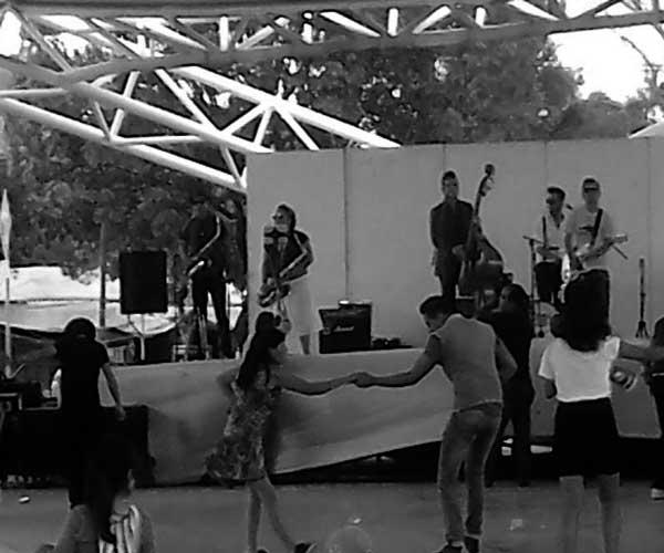 Rockabilly en vivo en el Distrito Federal