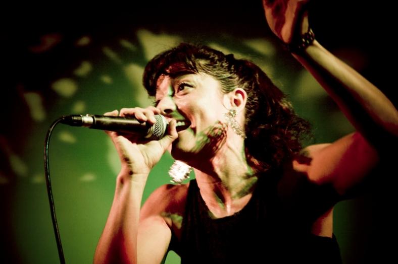 Anahí Arias en vivo