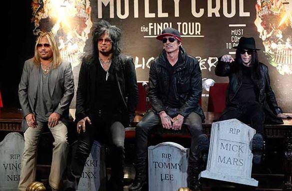 Mötley Crüe no tocará varios clásicos