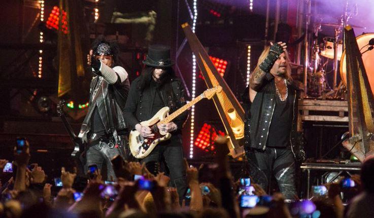 Mötley Crüe en la Ciudad de México