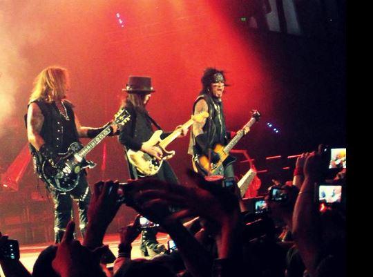 Los Crüe cerraron su historia en México