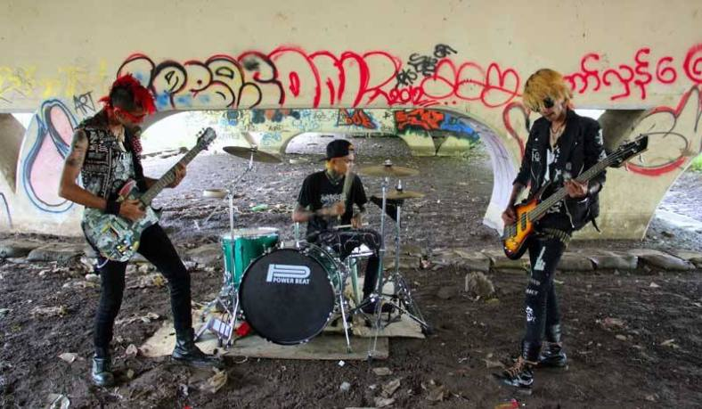 The Rebel Riot, una banda de punk altruista