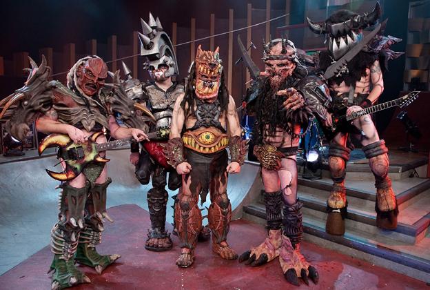 GWAR  fue una banda más de imagen que de calidad musical