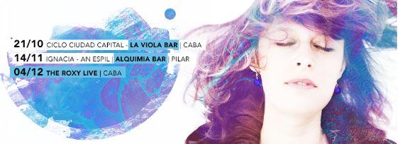Ignacia lanzará un nuevo álbum en 2016