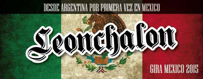 Leonchalon de gira por primera vez en México
