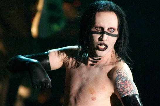Marilyn Manson cuando asustaba a los cristianos