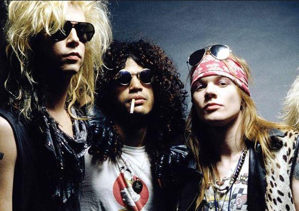 Guns N´ Roses por ahora regresa con Duff, Slash y Axl.