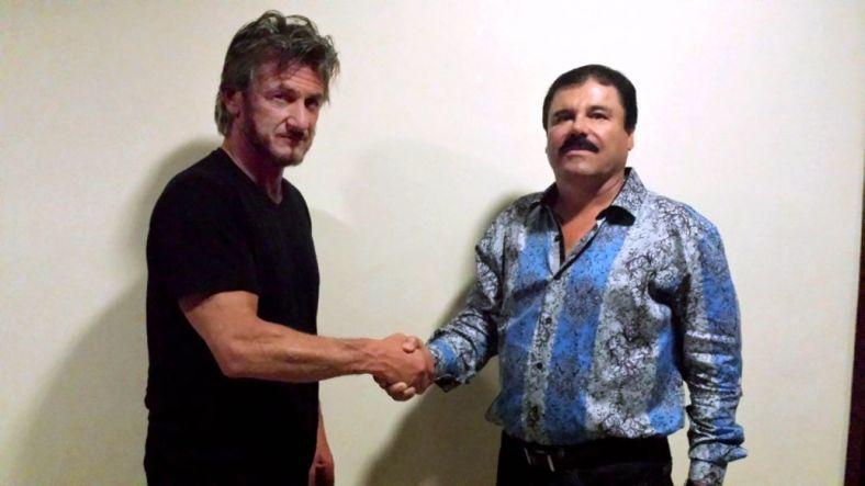 """Sean Penn y """"El Chapo"""" Guzmán. La imagen que la ha dado la vuelta al mundo."""