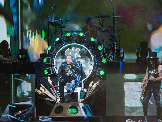 Axl y Slash juntos musicalmente nuevamente
