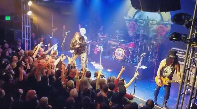 Guns N' Roses regresando a sus orígenes en el Troubadour