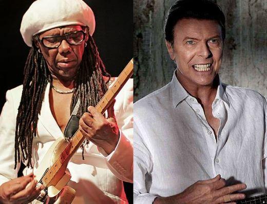 Nile Rodgers y David Bowie hicieron un gran equipo musical