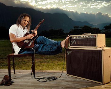 Kirk Hammet en su zona de confort